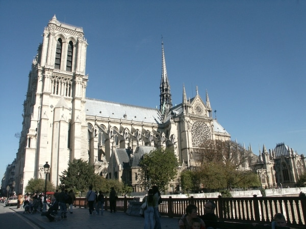 Easter in Notre-Dame in Paris