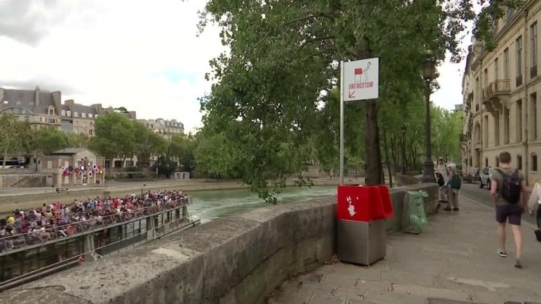 Watch the Seine while you pee in Paris - Source: CNN