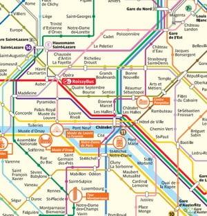 Metro Map Paris