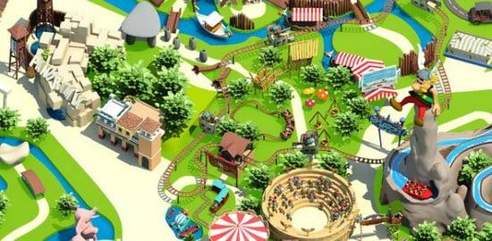 Asterix park in Paris