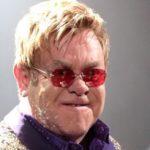 Elton John concert in Paris